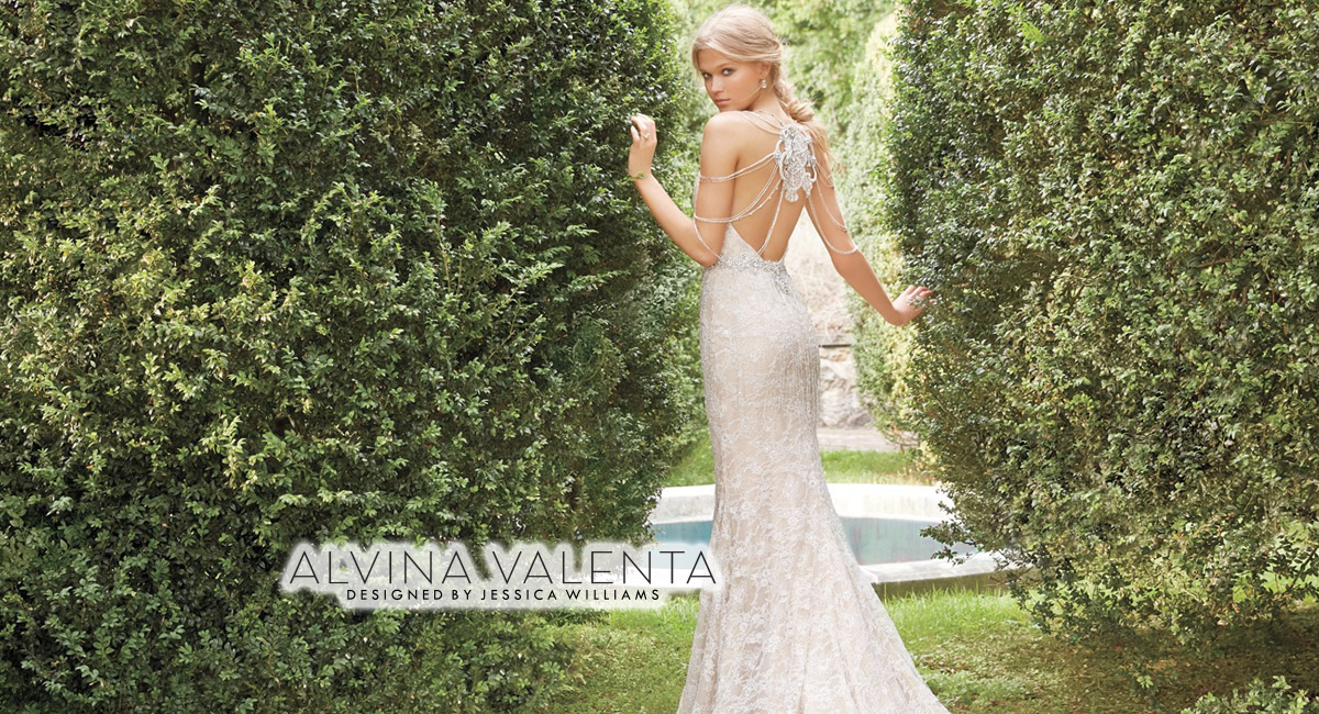 78a8b5dd169 Wedding dress designs by Alvina Valenta featured in our Chicago   Oakbrook  Terrace salon