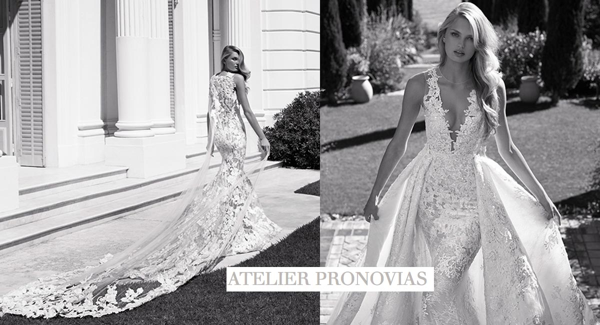 92999f2b821 Wedding dress designs by Atelier Pronovias featured in our Oakbrook Terrace  salon