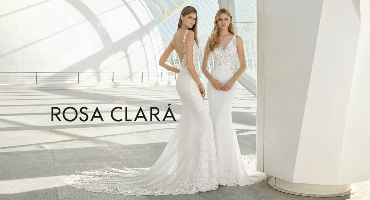 fdae28e4dd1 Wedding dress designs by Rosa Clara featured in our Oakbrook Terrace salon