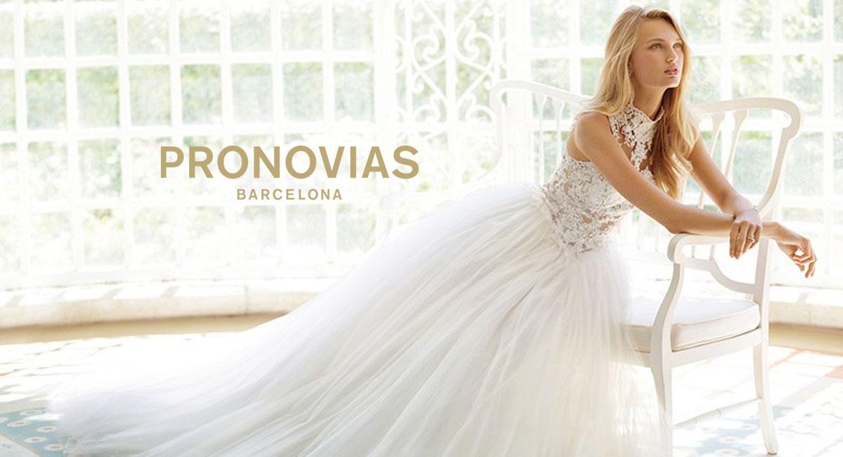 Pronovias Real Wedding Inspiration: Wedding Dress Designer